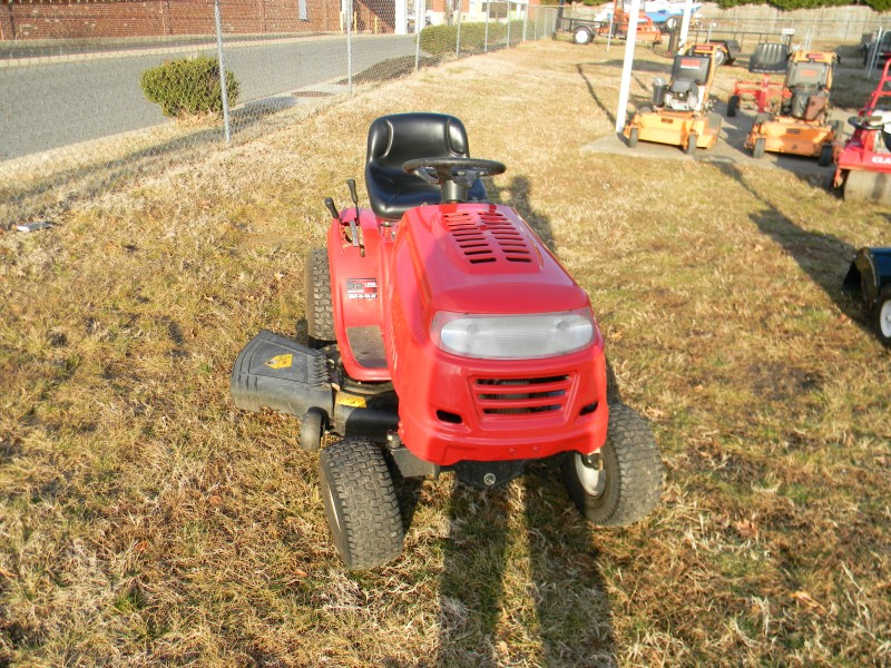 Yard Machines Garden Tractor : Yard machines lawn tractor a s quot cut like new