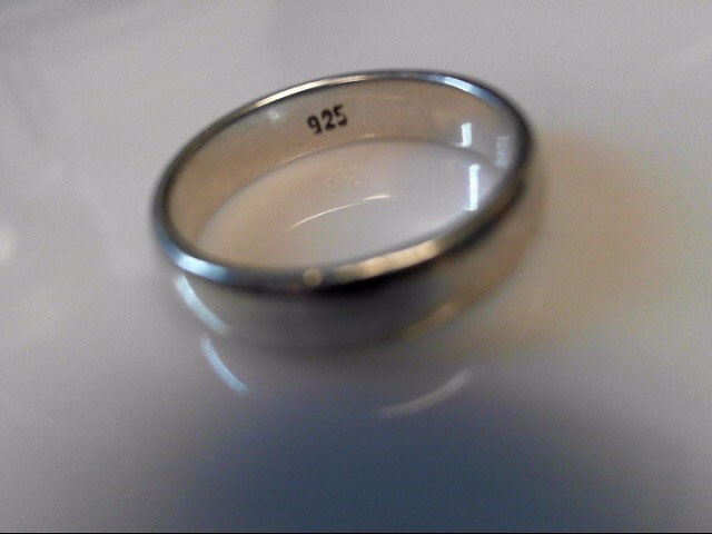 Silver Wedding Band 925 Silver 4.62g Size:9