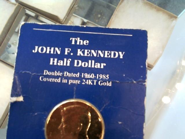 UNITED STATES Gold Coin 1985 KENNEDY HALF DOLLAR
