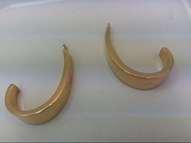 Gold Earrings 14K Yellow Gold 1.6g