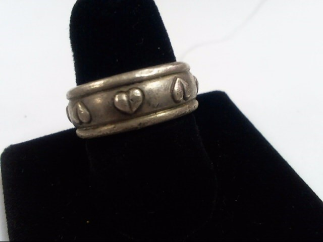 Lady's Silver Ring 925 Silver 10.9g Size:6