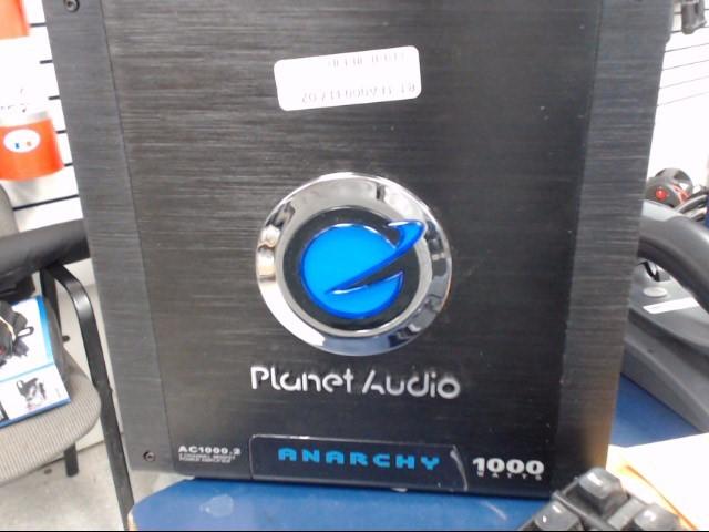 PLANET AUDIO Car Amplifier AC1000.2