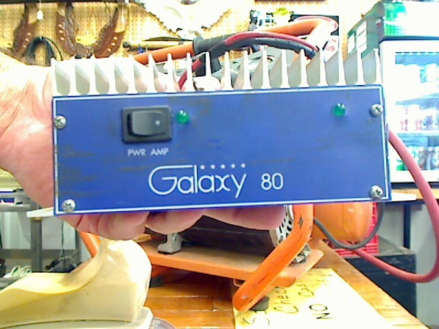 Amplifier/Tube Amp GALAXY 80 PWR AMP