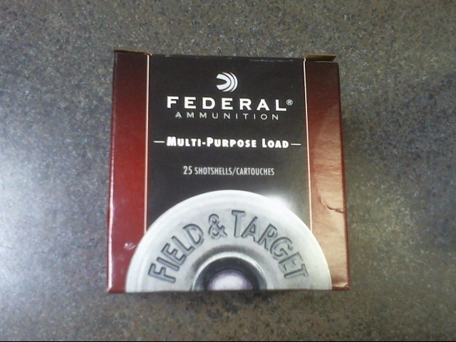 FEDERAL AMMUNITION Ammunition 20 GA MULTI-PURPOSE SHOTSHELL 7 1/2