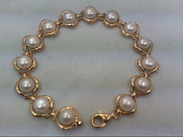 Gold Bracelet 14K Yellow Gold 13.9g