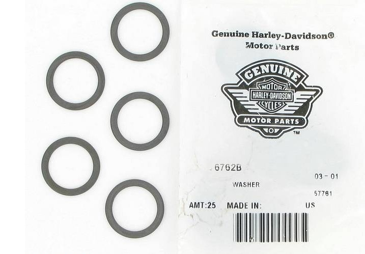 HARLEY DAVIDSON 6762B, WASHER **SOLD BY 1 EACH**