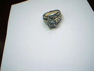 Lady's Diamond Fashion Ring 52 Diamonds 3.16 Carat T.W. 14K Yellow Gold 11.2g