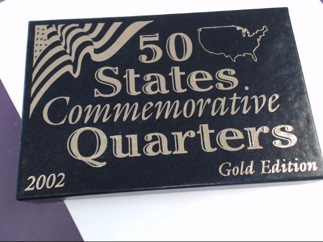 50 STATES COMMEMORATIVE QUARTERS 2002 GOLD EDITION
