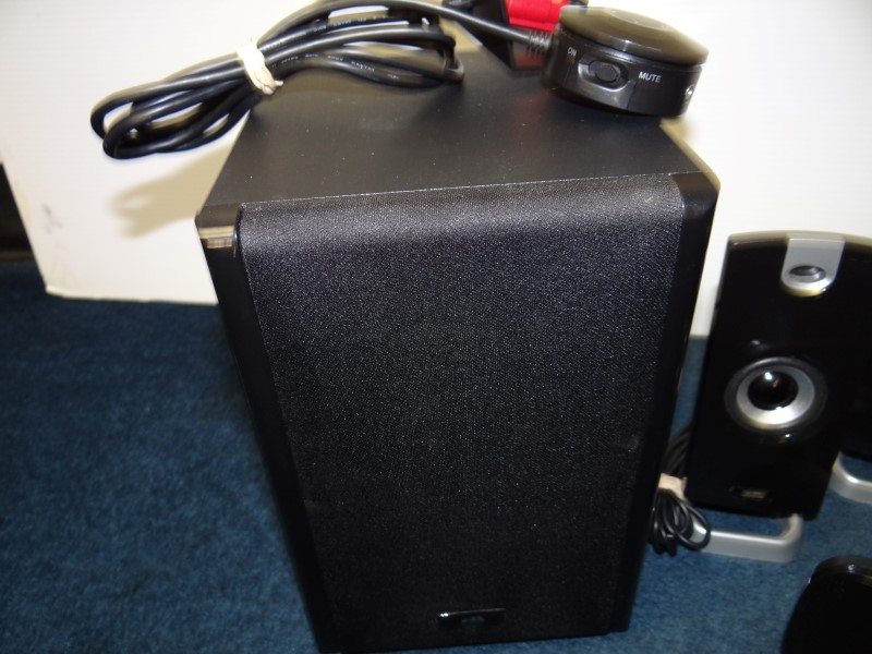 CYBER ACOUSTICS Computer Speakers CA-5402
