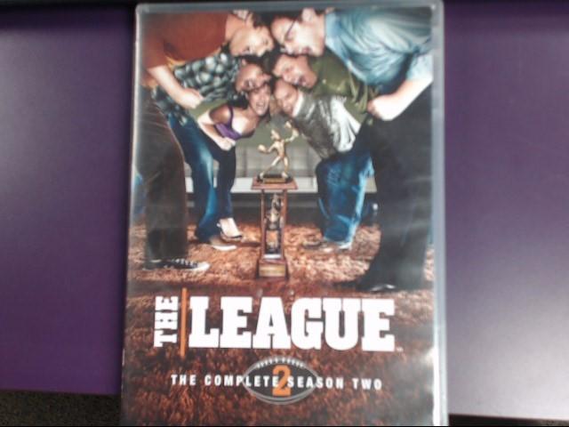 DVD BOX SET  THE LEAGUE THE COMPLETE SEASON TWO