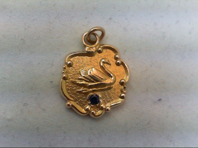Gold Charm 10K Yellow Gold 2.6g