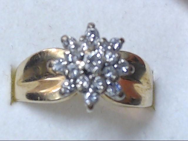 DIAMOND CLUSTER RING JEWELRY, 14