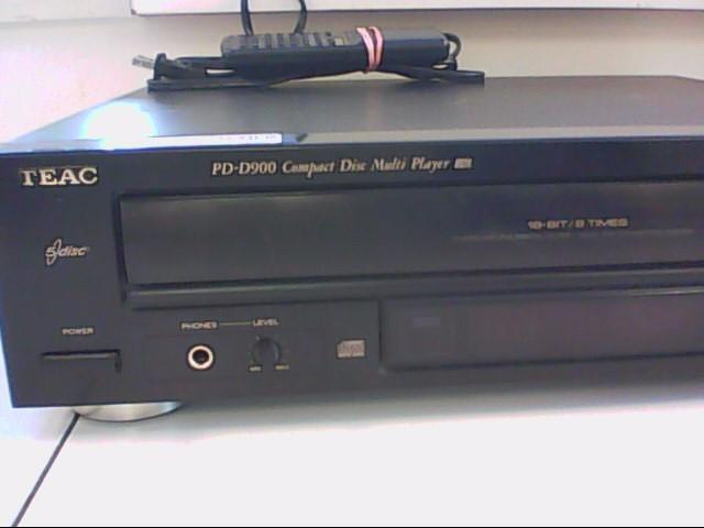 TEAC CD Player & Recorder PD-D900 CHANGER
