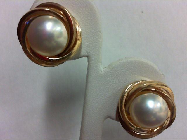 Gold Earrings 14K Yellow Gold 7.2g