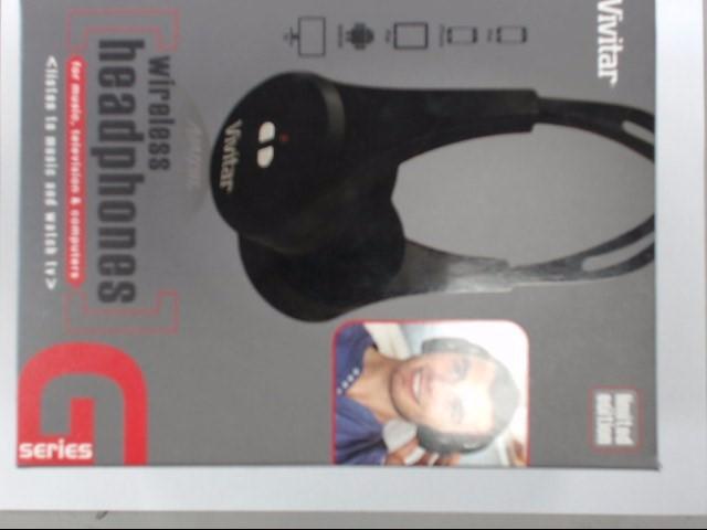 VIVITAR Headphones V11897 WIRELESS HEADPHONES