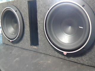 "ROCKFORD FOSGATE Car Speakers/Speaker System PUNCH P2 10"""