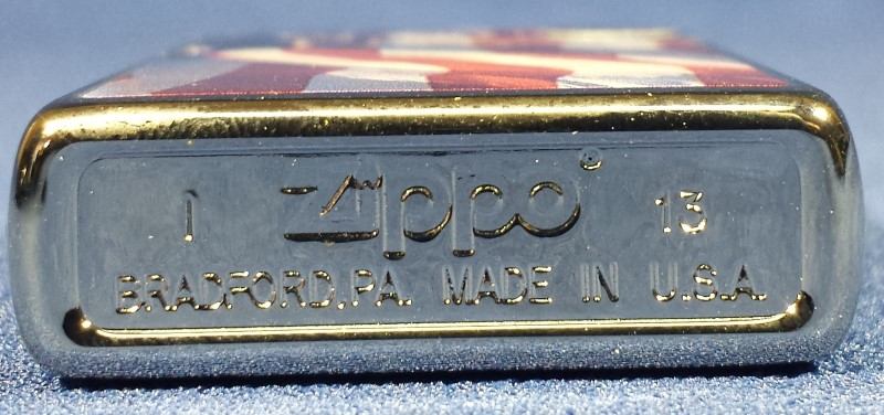 ZIPPO 2013 MADE IN USA