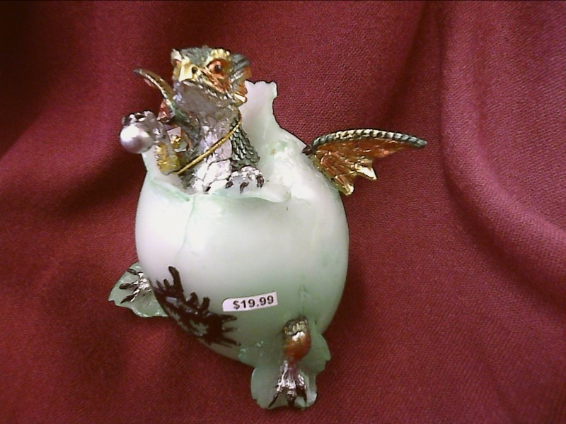 FIGURINES COLLECTIBLES NEW MISC NEW MISC GEORGE S. CHEN 71451; DRAGON EGG/ LED G