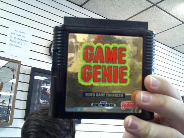 SEGA Sega GAME GENIE