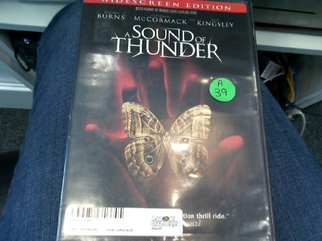 A SOUND OF THUNDER DVD