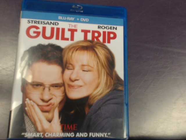 THE GUILT TRIP, COMEDY BLU-RAY DVD MOVIE