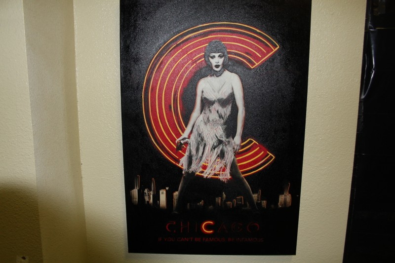"STEVE KAUFMAN' ""CHICAGO"" CZJ'S CATHERINE ZETA-JONES LIMITED EDITION ARTIST SIGN"