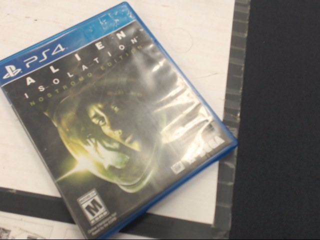 PS4 GAME ALIEN ISOLATION