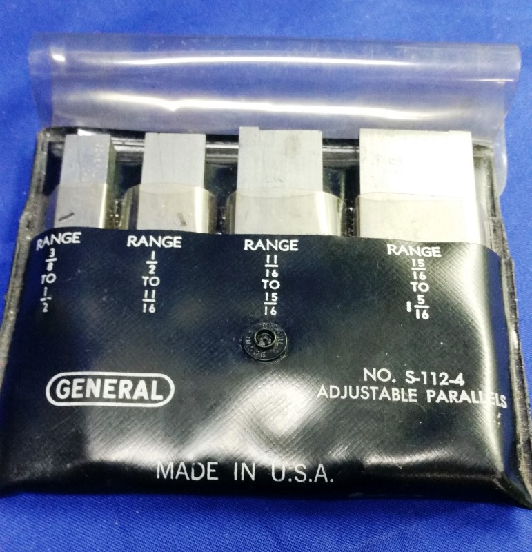 GENERAL HARDWARE MFG CO S-112-4 ADJUSTABLE PARALLELS