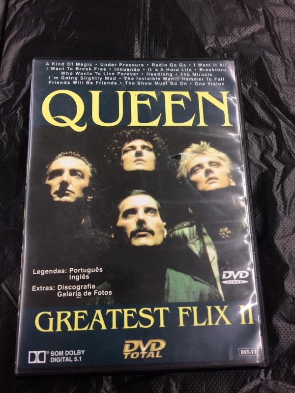 QUEEN DVD GREATEST FLIX II