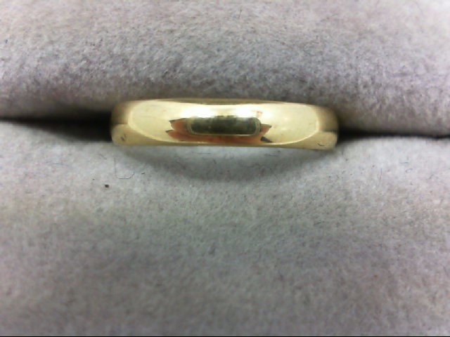 Lady's Gold Ring 14K Yellow Gold 0.8g