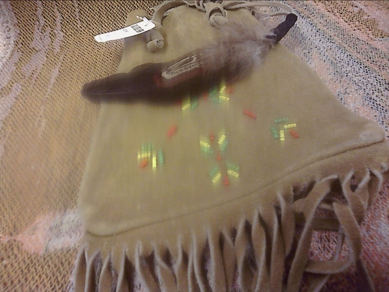 MISC COLLECTIBLES MISC USED MERCH MISC USED MERCH; POSSIBLES BAG SUEDE