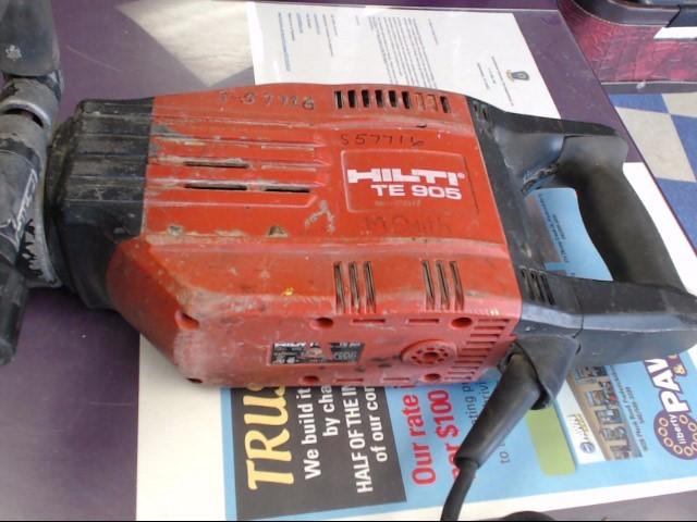 Hilti TE 905 Corded Heavy Duty Electric Demolition Jack Hammer Breaker