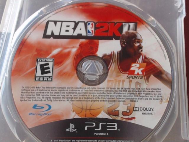 SONY PS3 NBA2K11