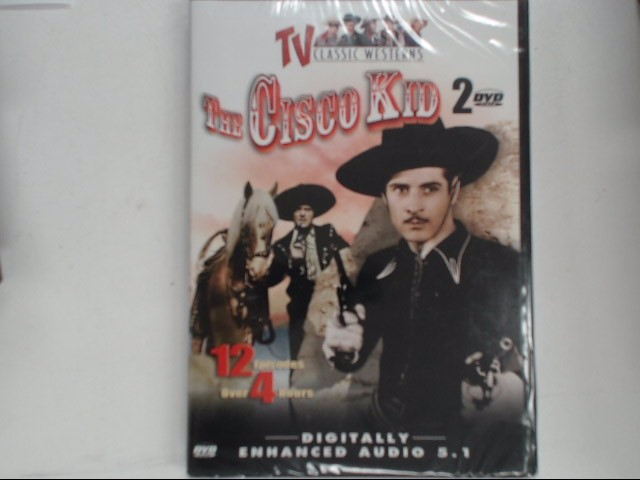 DVD MOVIE THE CISCO KID 12 EPISODES