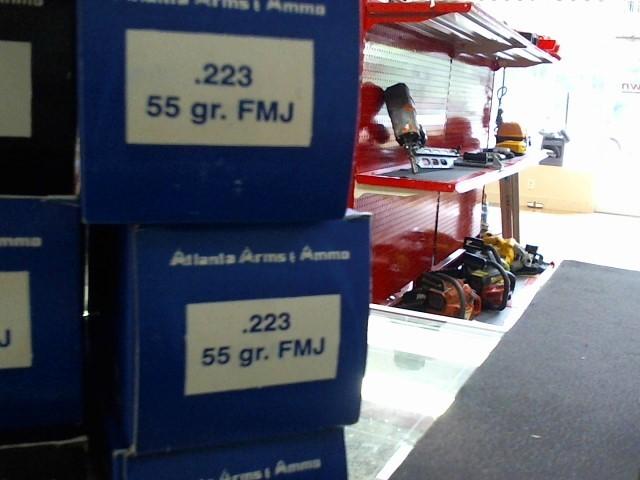 ATLANTA ARMS AMMO Ammunition 223 CAL