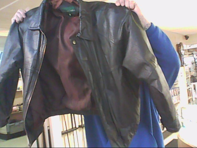 HILL AND ARCHER MENS LEATHER JACKET