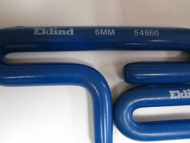 EKLIND TOOL Wrench 6 PC HEX SET