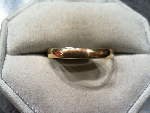 Gent's Gold Ring 14K Yellow Gold 1.8g