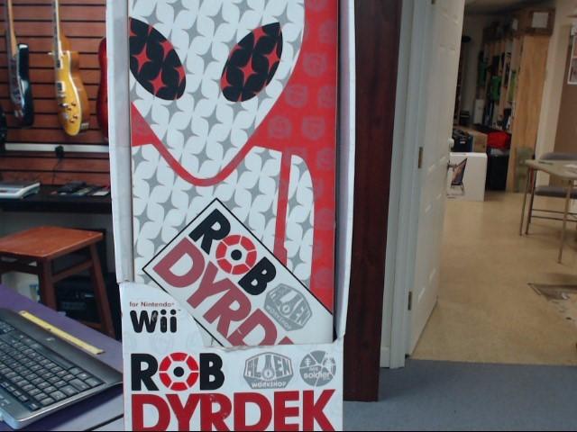 NINTENDO Video Game Accessory WII ROB DYRDEK SKATE BOARD