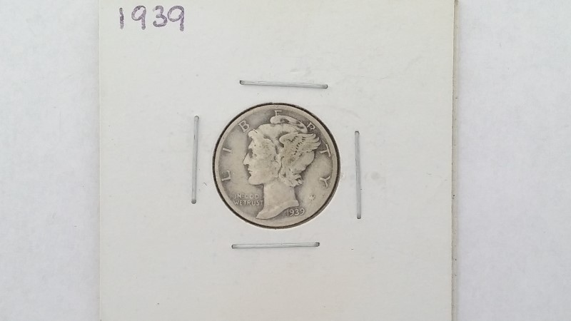 United States 1939 Mercury Dime