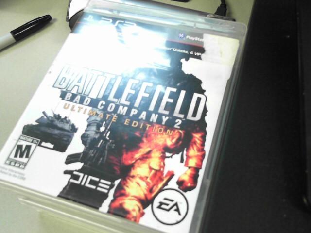 SONY Sony PlayStation 3 BATTLEFIELD BAD COMPANY 2 ULTIMATE EDITION