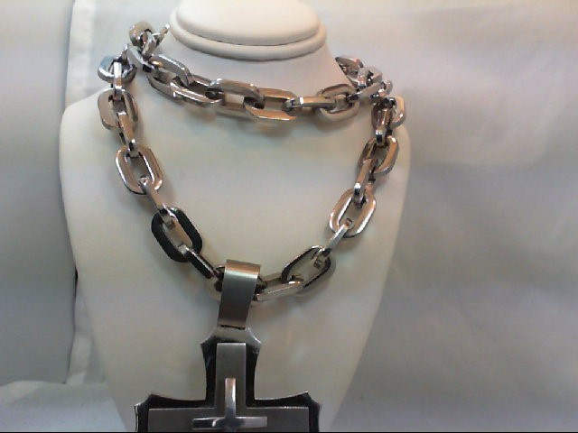 Necklace/Pendant Silver Stainless 236g