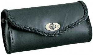 UNIK 2802.00; BLACK BRAIDED WINDSHIELD BAG