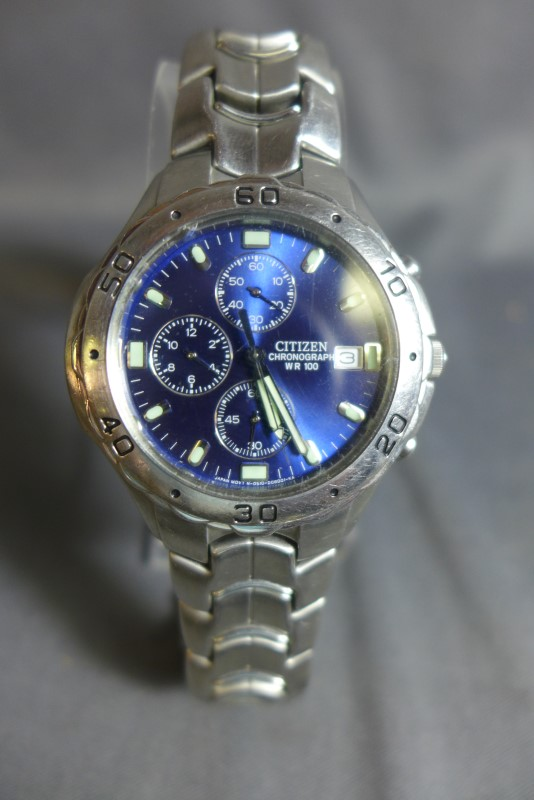 CITIZEN Gent's Wristwatch 0510-S92294