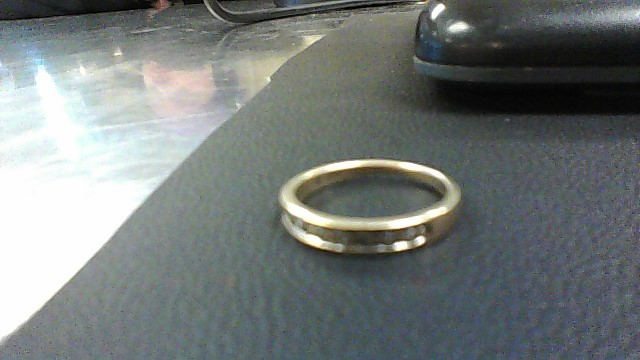 Lady's Gold-Diamond Anniversary Ring 9 Diamonds .09 Carat T.W. 10K Yellow Gold