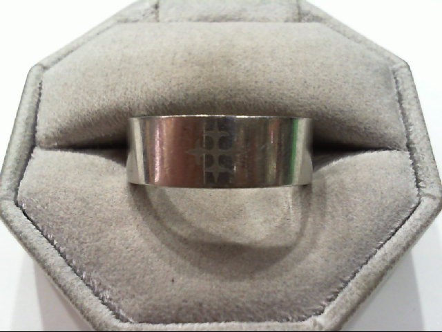 Gent's Ring Silver Stainless 9g