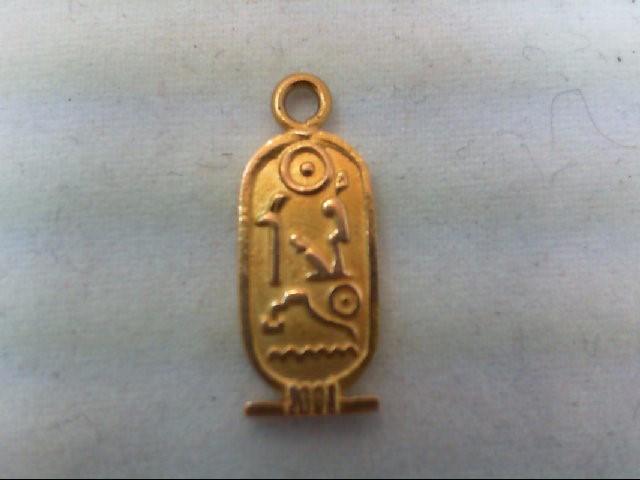 Gold Pendant 18K Yellow Gold 2.1g