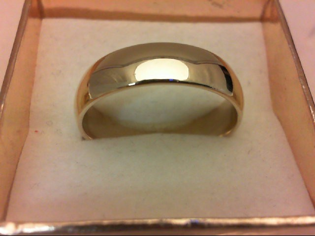 Gent's Gold Wedding Band 14K Yellow Gold 7.1g