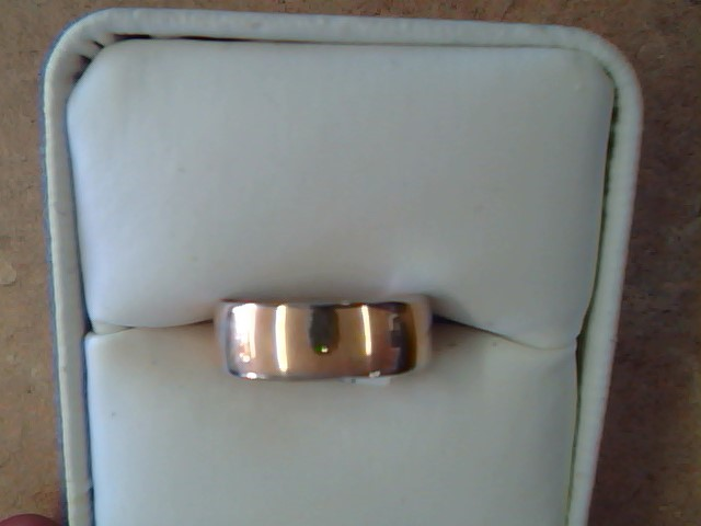 BAND RING JEWELRY , 14KT, 3.90 G