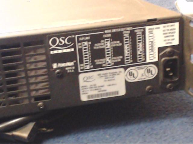 QSC AUDIO Amplifier CX1102